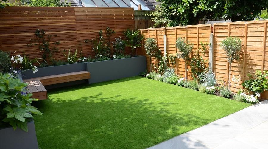 Cesped artificial para el jardin