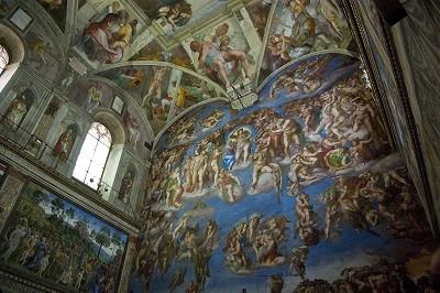 La Capilla Sixtina, Arte del Cinquecento