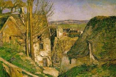 La casa del ahorcado en Auvers sur Oise