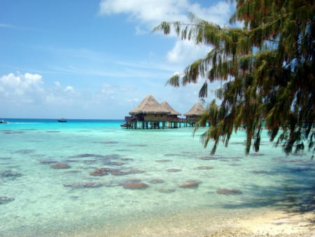 Rangiroa isla polinesia