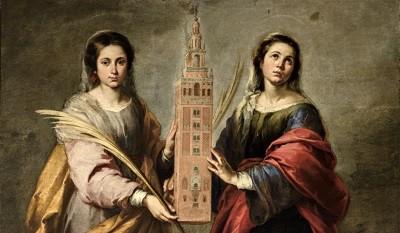 Santas Justa y Rufina Murillo