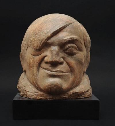 Masque de Picasso, de Pablo Gargallo