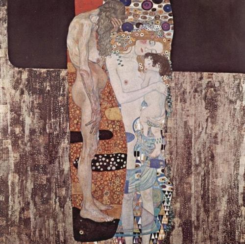 Klimt Las tres edades de la mujer
