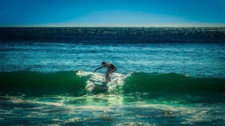 La conexión de Nazaré con el surf