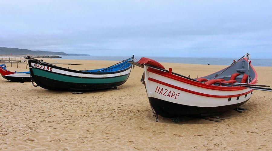 Nazaré un paraíso en la costa portuguesa