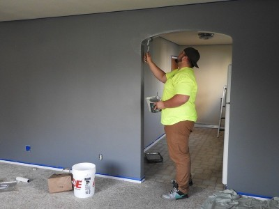Pintar las paredes