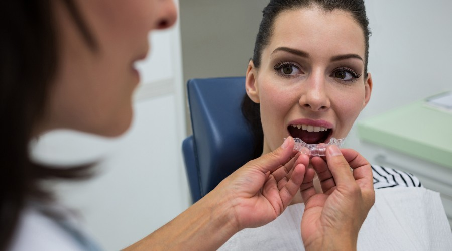 Ortodoncia invisible para bruxismo